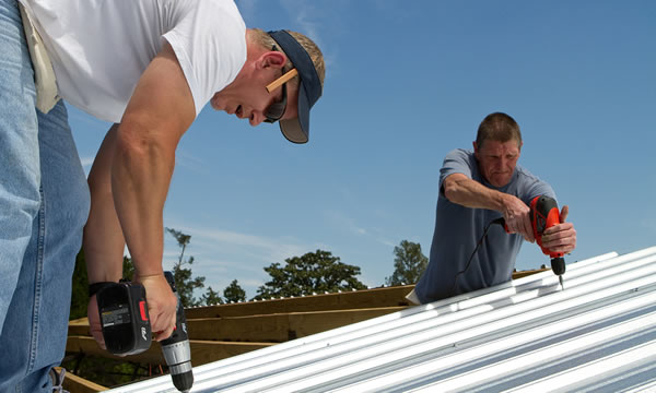 Metal Roof repair and Replacement.
