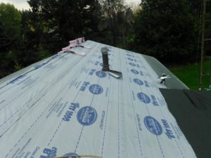 Roof Moisture Water and Ice Barrier