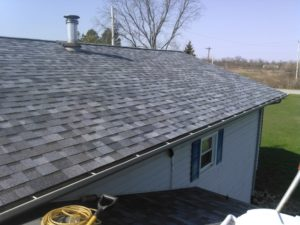 Replaced Asphalt Shingle Roof